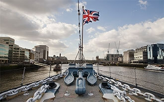ספינת המלחמה של הוד מלכותה בלפסט - HMS Belfast