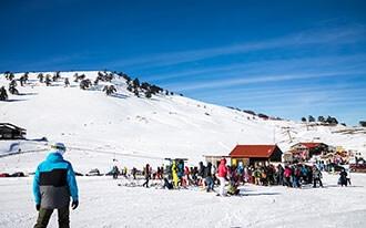 סקי ביוון - Skiing in Greece