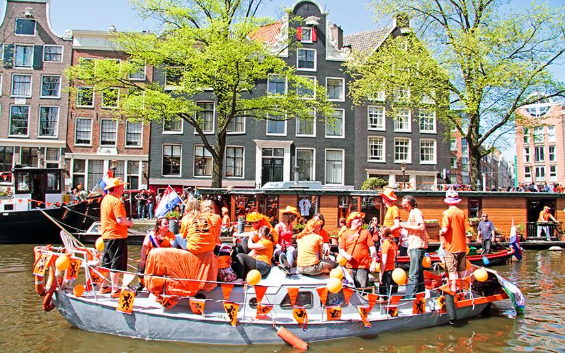 יום המלך בהולנד - King's Day