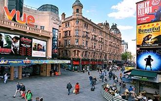 פסטיבלים, הופעות ואירועים מיוחדים בלונדון.