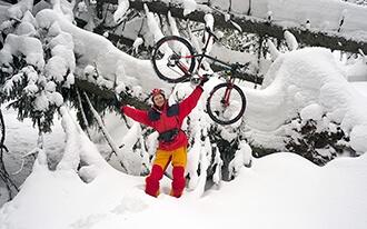 פסטיבל אופני שלג - Snow Bike Festival