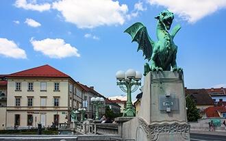 פסטיבל הדרקון בסלובניה (Ljubljana Dragon Carnival)