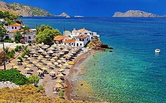 חופשת בטן גב ביוון