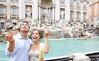 סתיו ברומא - טיול רומנטי בין אתריה המפורסמים של רומא