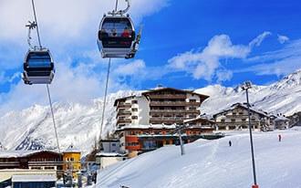 סקי באוסטריה - אתרי סקי באוסטריה