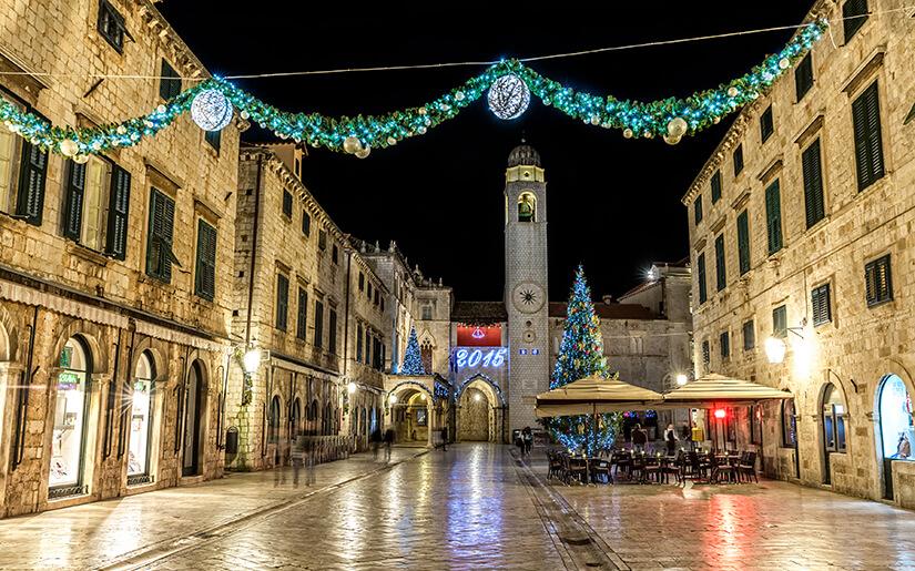 דוברובניק - יעד נהדר בתקופת הסתיו וחג המולד