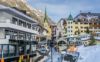 אתרי הסקי המובלים באוסטריה